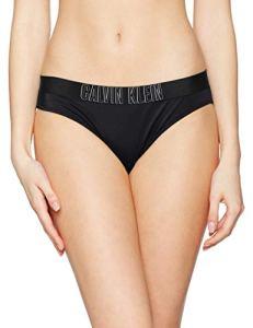 Calvin Klein Classic Bikini-HR Bas De Maillot, Noir (Pvh Black 094), Unique (Taille Fabricant: Large) Femme