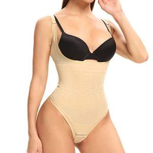 Joyshaper Body gainant pour femme – String gainant avec crochet – Beige – X-Large