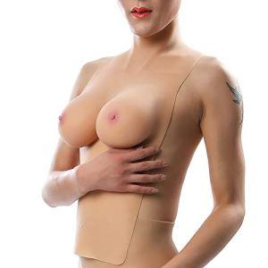 Réaliste Faux Seins Formes mammaires en Silicone pour Crossdresser transgenre Mastectomie du Sein Enhancer Wearable Tasse,Color 1