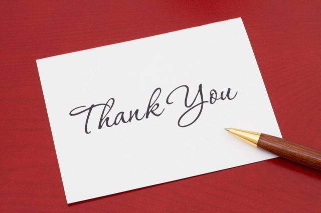 A Christmas Thank You Note — Who You Should Write Them To
