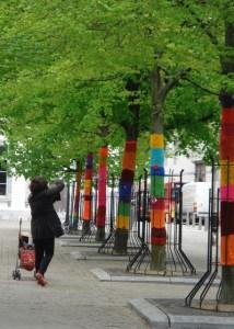 yarn bombing saint-barthélemy liège