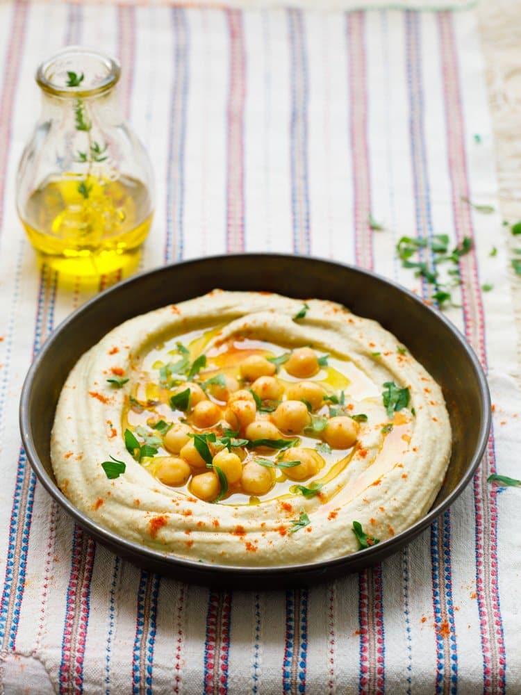 Hummus – klassisk oppskrift fra Midtøsten