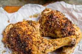Kyllinglår med za'atar / Zaatarkylling - oppskrift / Et kjøkken i Istanbul