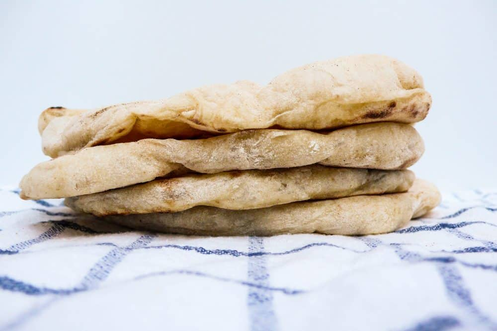 Mykt pannestekt brød