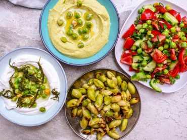 Kikertbonanza - ferske kikerter på fire måter - oppskrifter / Et kjøkken i Istanbul