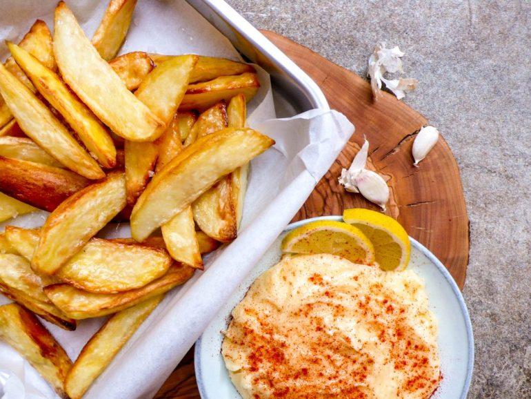 Sprø ovnsstekte potetbåter – oppskrift fra Et kjøkken i Istanbul
