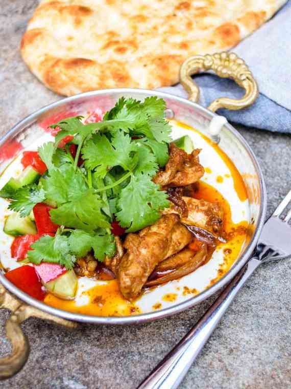 Kylling shawarma / Et kjøkken i Istanbul