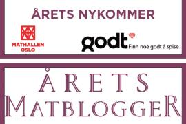 Finalist til Årets matblogger 2016