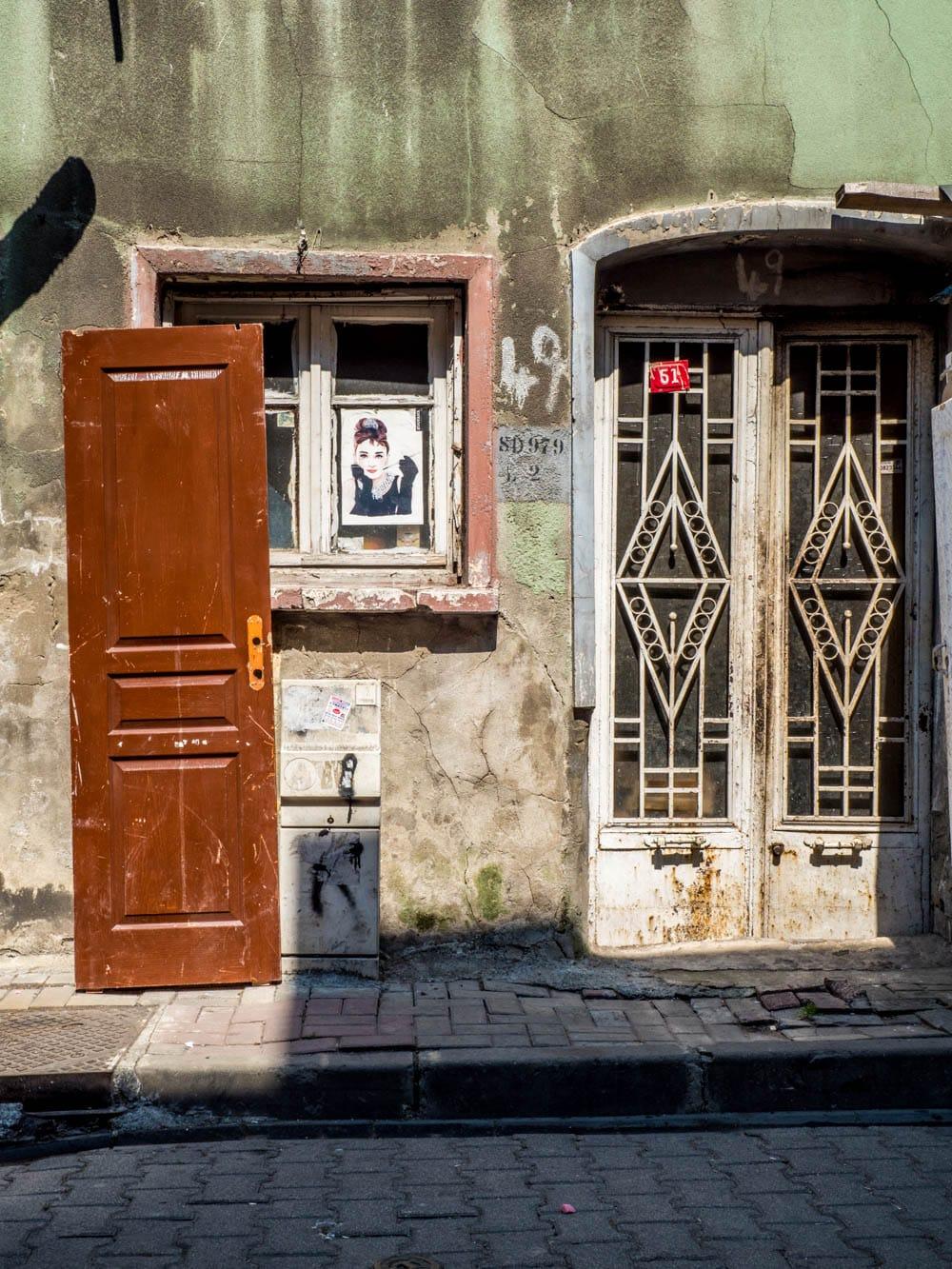 Gatebilde fra Balat, Istanbul
