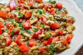 Syrisk baba ganoush - oppskrift / Et kjøkken i Istanbul