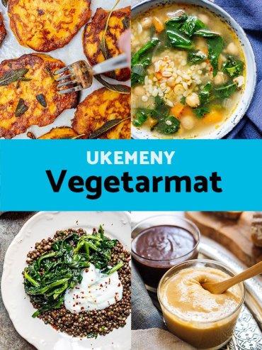 Ukemeny - Vegetarmat / oppskrifter fra Et kjøkken i Istanbul