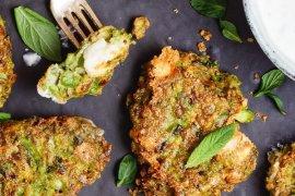 Vegetarboller med erter og fetaost - oppskrift fra Et kjøkken i Istanbul