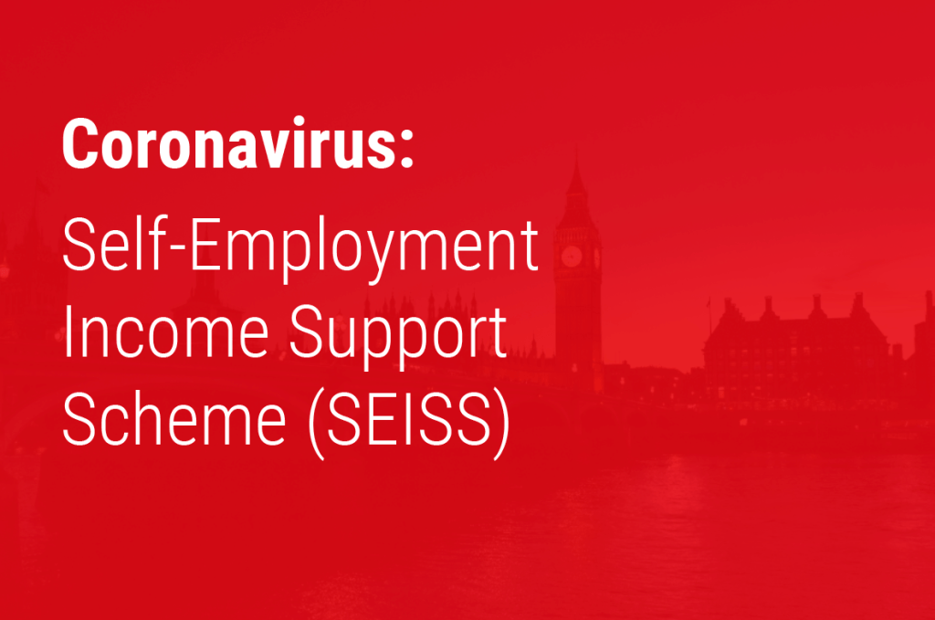 Self-Employment Income Support Scheme (SEISS)