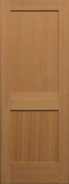 Vertical Grain Douglas Fir Interior Doors 2 Panel 1 38