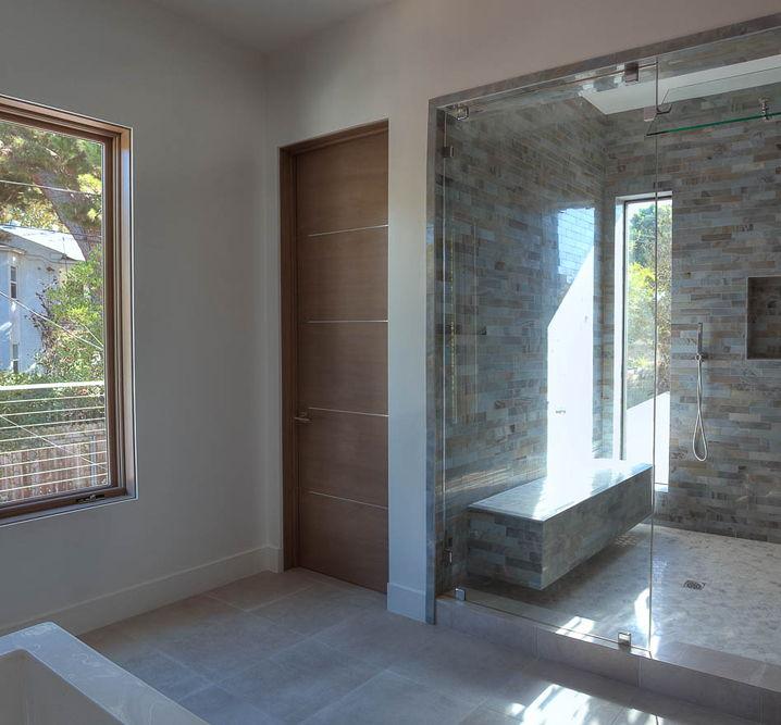 Movida Mahogany Flush Door With 14 Horizontal 3