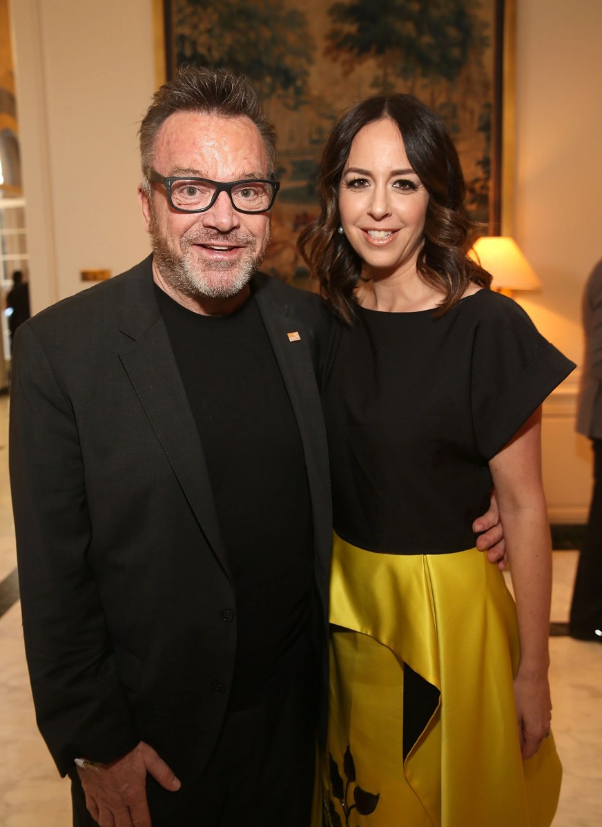 Tom Arnold And Ashley Groussman S Divorce Finalized After 10 Years Of Marriage Entertainment Tonight
