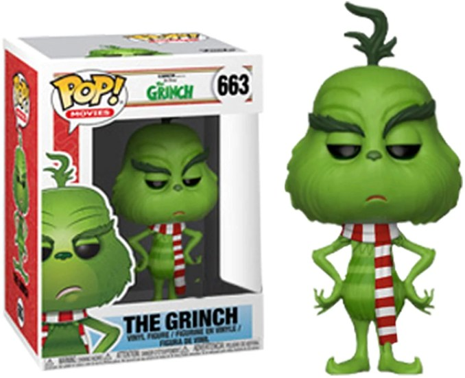 POP Funko The Grinch with Scarf Exclusive Vinyl Figure