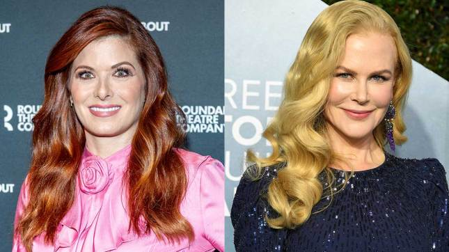 Debra Messing Campaigns to Play Lucille Ball After Learning Nicole Kidman  Is Up for the Role   Entertainment Tonight