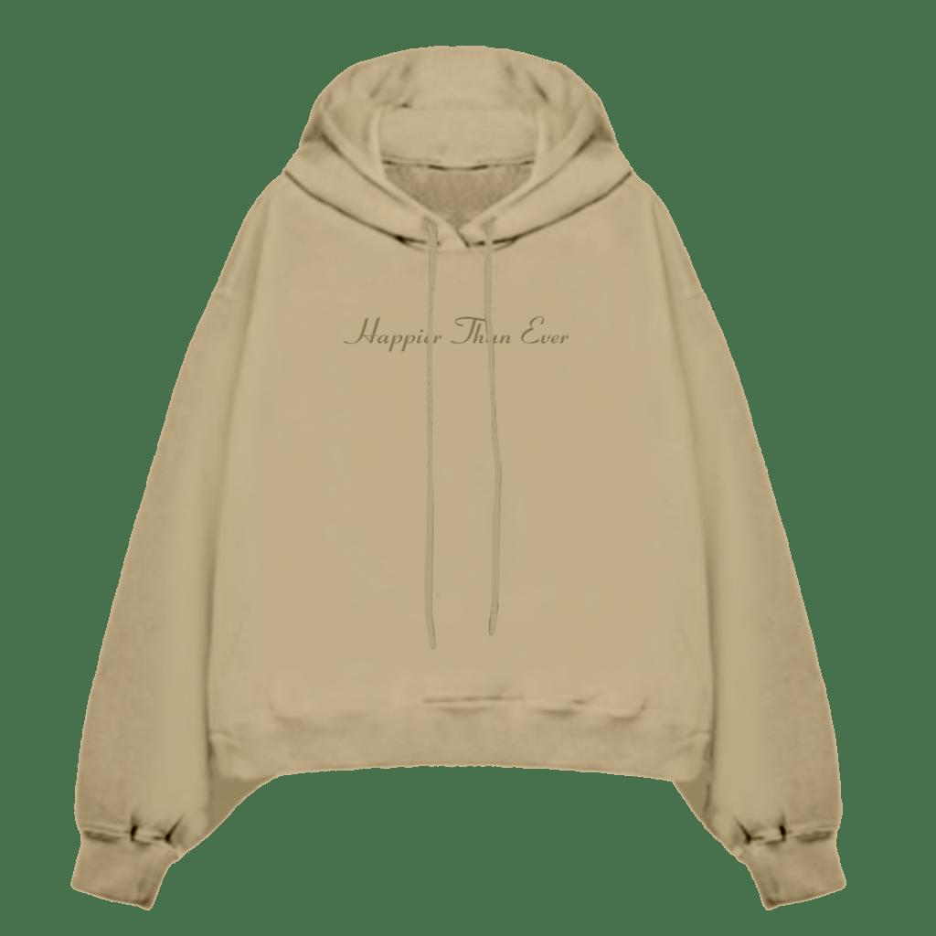 Billie Eilish Happier Than Ever Hooded Sweatshirt