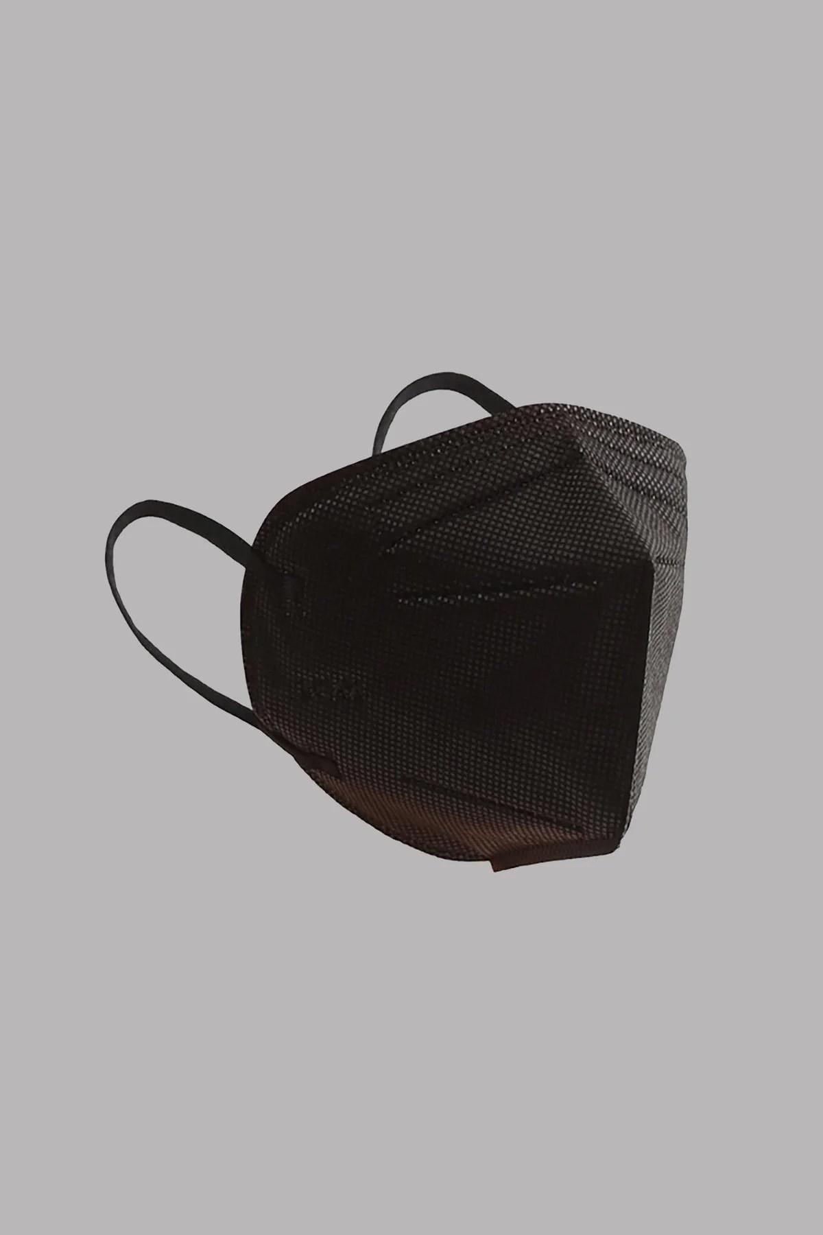 BLACK KN95 FACE MASKS - 10 PACK