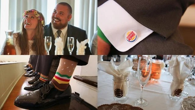 Burger King Wedding 6
