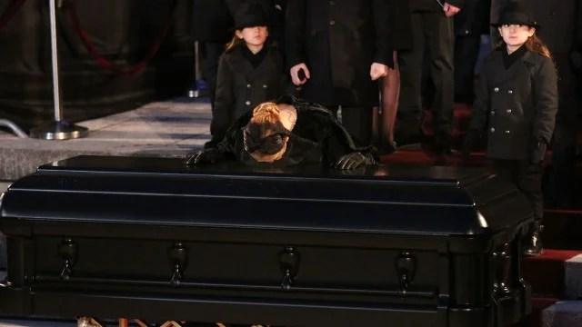 Celine Dion Bids Emotional Final Farewell To Late Husband