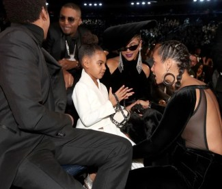 Blue Ivy and Alicia Keys