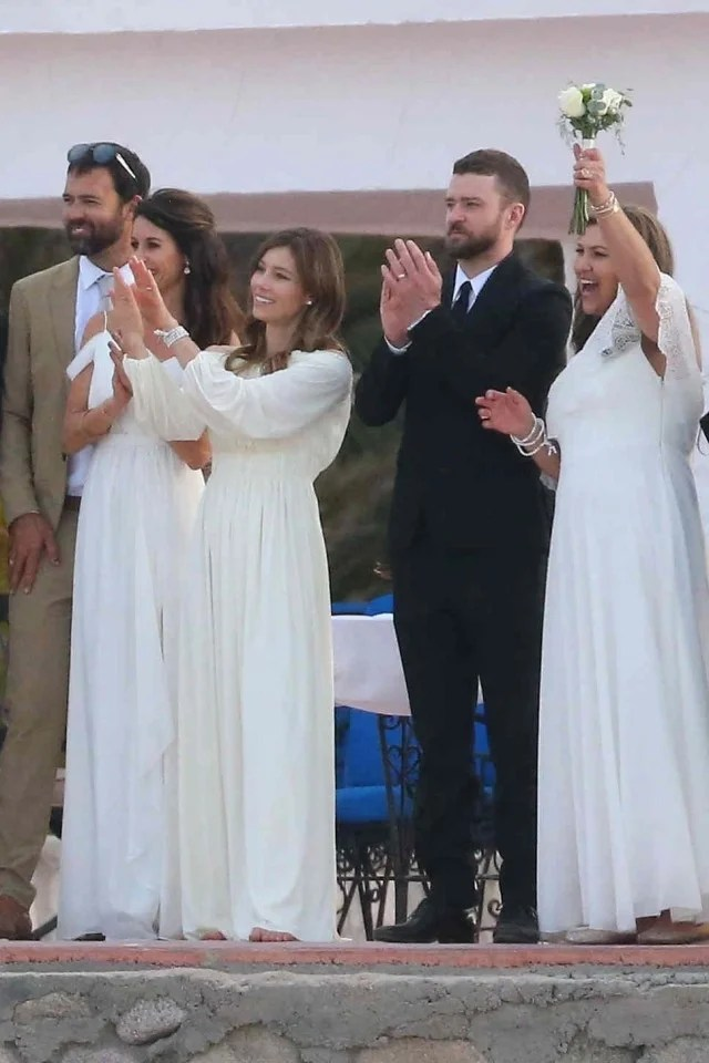 Justin Timberlake And Jessica Biel Celebrate Her Brothers