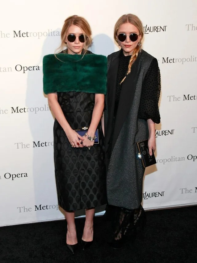 Mary-Kate and Ashley Met Opera