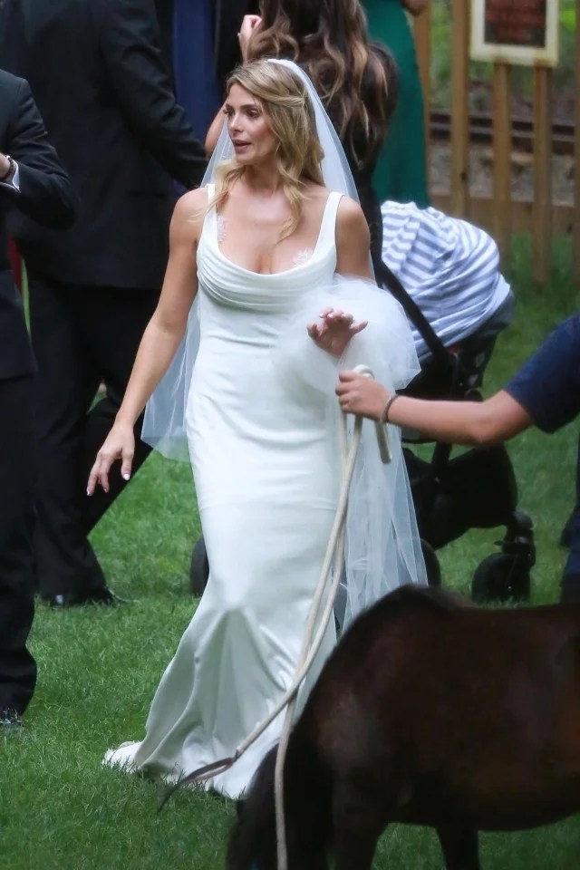 Ashley Greene Wears Two Wedding Dresses On Her Special Day