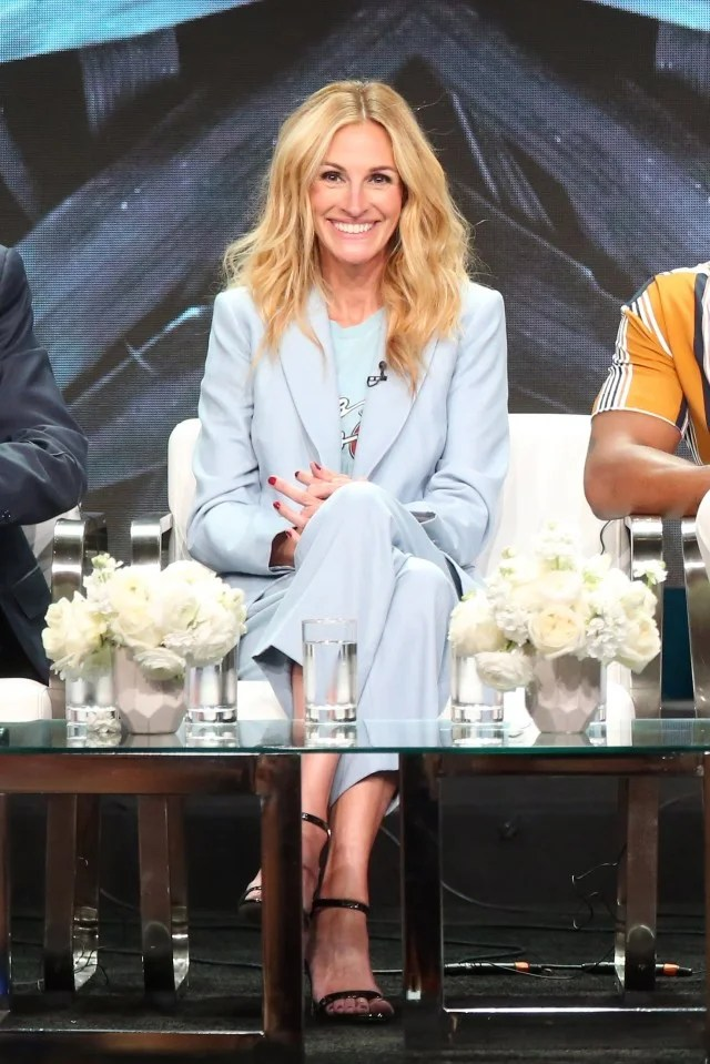 Julia Roberts at the summer 2018 Television Critics Association press tour in Beverly Hills, CA