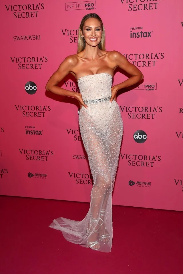 Candice Swanepoel at Victoria's Secret Fashion Show After Party