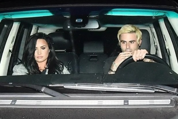 Demi Lovato and Henry Levy went to dinner on November 4, 2018.