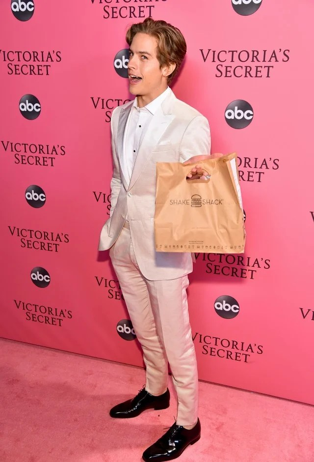 Dylan Sprouse at Victoria's Secret After Party