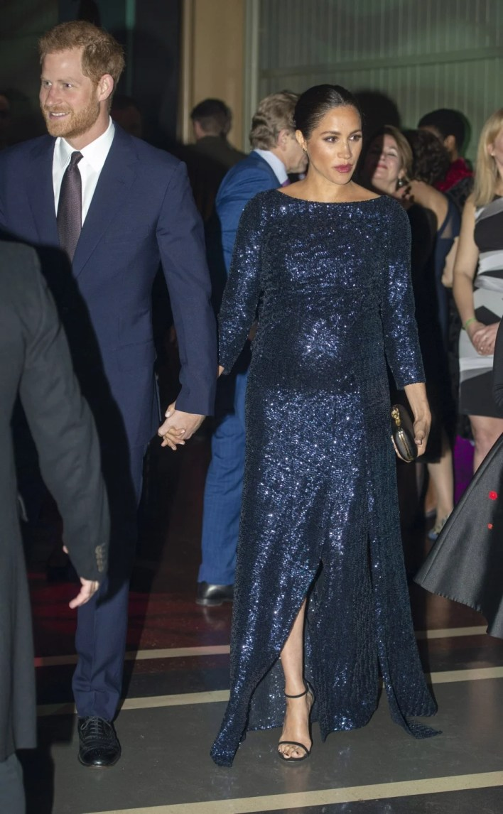 Prince Harry and Meghan Markle at Royal Albert Hall Event in 2019