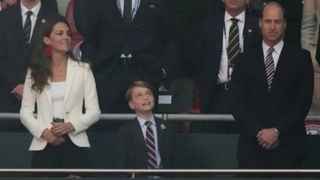 Kate Middleton, Prince George, Prince William