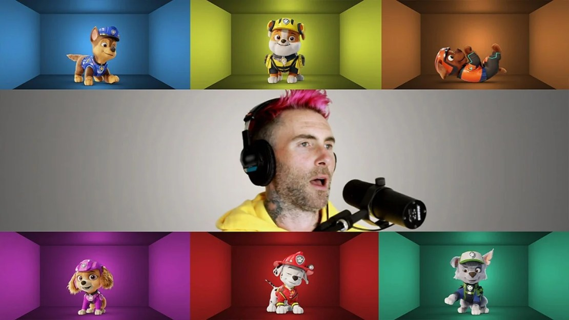 'Paw Patrol: The Movie': Go Behind the Scenes and Get a First Look at Adam Levine's Music Video for the Film