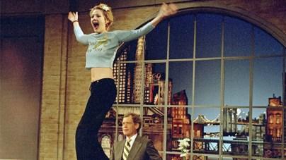 Drew Barrymore Recalls Flashing David Letterman: 'It Was Scary'    Entertainment Tonight
