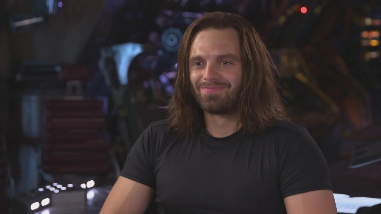 Anthony Mackie And Sebastian Stan On Avengers Infinity