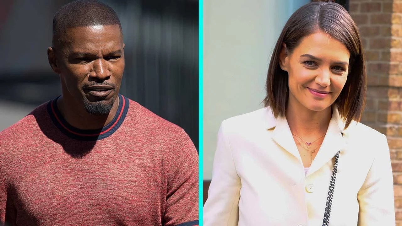 Katie Holmes And Jamie Foxx Share PDA On Miami Yacht