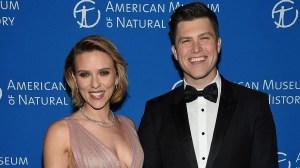 Scarlett Johansson Engaged to 'SNL' Star Colin Jost!