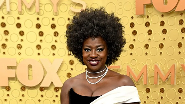 Viola Davis Rocked a Pair of Sparkly Sneakers on the Emmys Stage