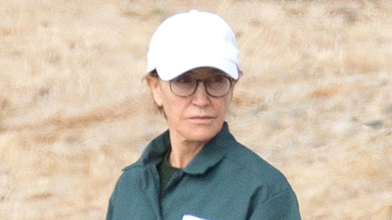 Felicity Huffman Photographed in Prison Uniform