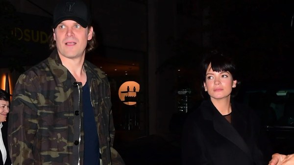 David Harbour Supported by Lily Allen at