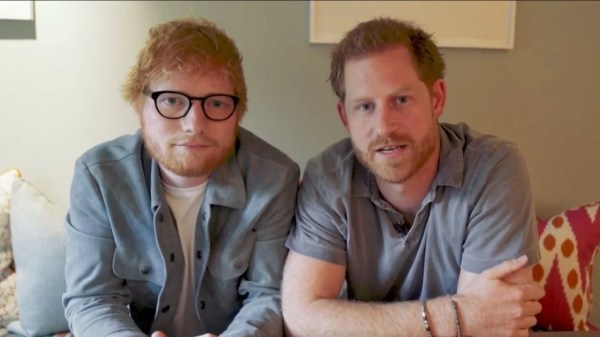Ed Sheeran Teams Up With Prince Harry in Hilarious Video