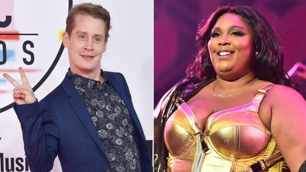 Macaulay Culkin Dances With Lizzo at LA Show