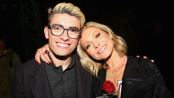Kelly Ripa Jokes About Her Son Michael