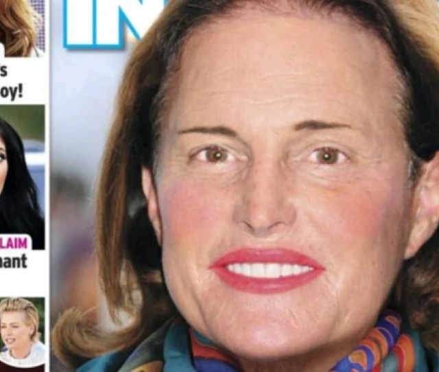 In Touch Magazine Photoshops Makeup On Bruce Jenner Sparks Outrage