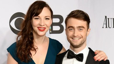 Image result for daniel radcliffe with girlfriend