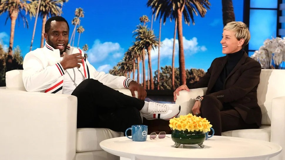 Image result for Diddy and Ellen
